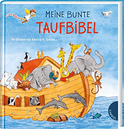 Meine bunte Taufbibel: | Schönes Taufgeschenk, mit Widmungsseite für das Taufkind (Dein kleiner Begleiter)