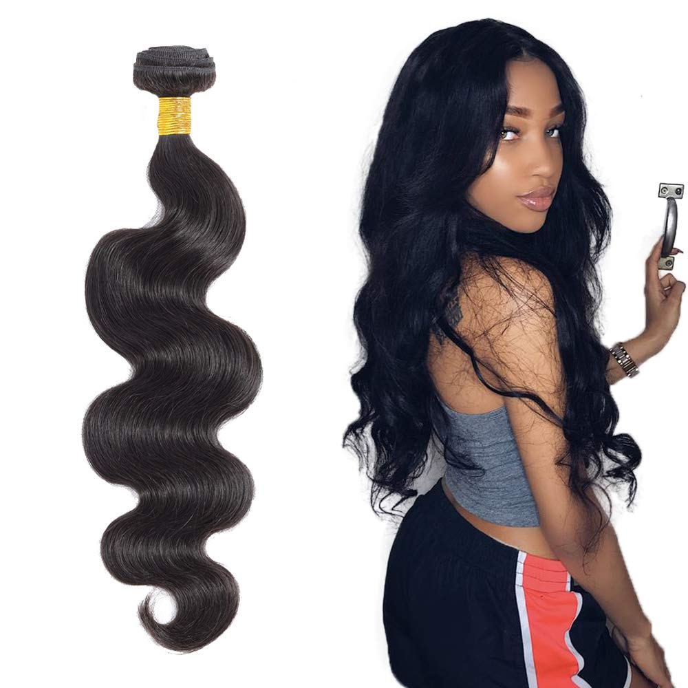 Queentas Body Wave Bundles Human Free shipping anywhere in Max 41% OFF the nation Hair 100% Unprocessed V Inch 12