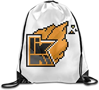 Poursoi YOUTUBE Kwebbelkop Logo Rucksack Schoolbag Shoulder Bag