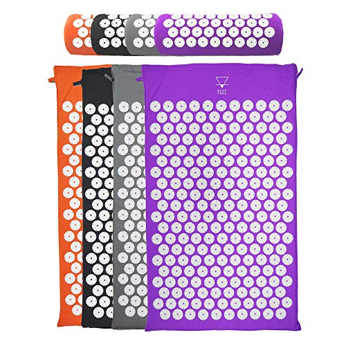 Base yoga Acupressure mat/acupuncture mat for Massage/Wellness/Relaxation and...