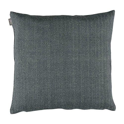Linum - Shepard - Kissenhülle/Kissenbezug/Wohntextilien - 50 x 50 cm - G19 - Granitgrau rau