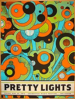 pretty lights concert poster