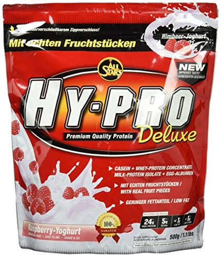 All Stars Hy-Pro Deluxe Protein, Himbeer-Joghurt, 1er Pack (1 x 500 g)