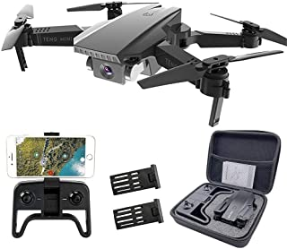 Teeggi M71 Drones with Dual Camera for Adults and Kids Foldable Drone 1080P FPV Quadcopter with Optical Flow Positioning, ...