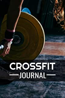 Crossfit Journal: WOD Log Book   Cross Training Exercise Planner   Track +150 WODs & Personal Records   Easy-to-Carry (6