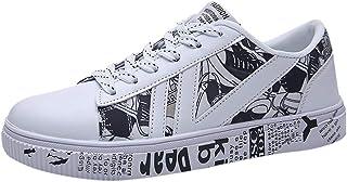 Sneaker Uomo Scarpe da Corsa Scarpe da Trekking Scarpe Casual Scarpe Mesh Traspirante Scarpe Traspiranti (44 EU,Bianca)