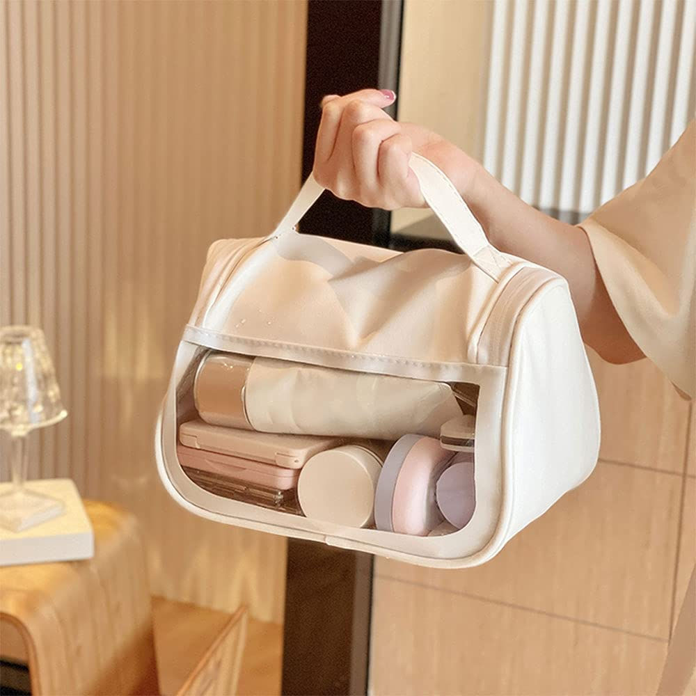 Danzhenshop Large special price Cosmetic bagPortable Travel bagWaterproof S Max 74% OFF
