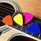 Ukulele Picks,MIBOW Felt Picks/Plectrums for Ukulele and Guitar,8 Pieces Guitar Picks,Multi-color
