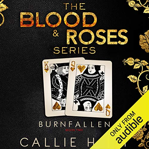 Burn & Fallen audiobook cover art