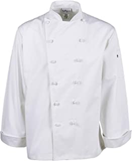 Chef Trends Executive Cotton Knot Button Chef Coat