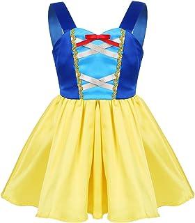 cae57e938d54b MSemis Bébé Fille Rob de Princesse Blanche-Neige Déguisement Cosplay Costume  Fête Robe Noël Soirée