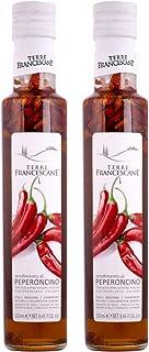2er Pack Terre Francescane - Chili-Öl - Extra Natives Olivenöl mit Chili 2 x 250 ml