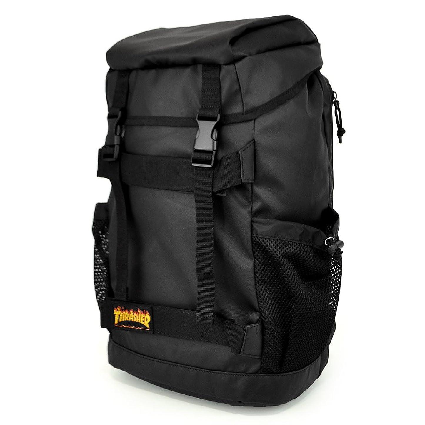 普通の裁量有害スラッシャー(THRASHER)SKATE BACK PACK スケートバックパック デイパック リュックサック 人気 ブランド ボード収納バッグ 鞄 かばん