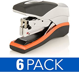 Swingline Staplers, Optima 40, Compact, Low Force, 40 Sheets, Black/Silver, Case of 6