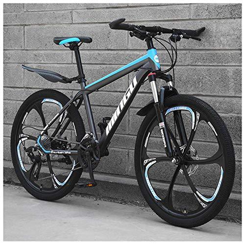 CWZY 26 Inch Men's Mountain Bikes, High-carbon Steel Hardtail Mountain Bike, Mountain Bicycle with...