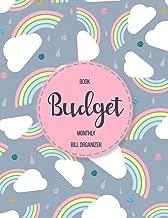 Budget Book Monthly Bill Organizer: 12 Month Budget Planner Book, Financial Planning Journal,Monthly Expense Tracker and Organizer Bill Tracker, Expense Tracker, Home Budget book