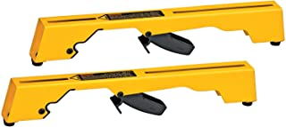 DEWALT DW7231 Miter-Saw Workstation Tool Mounting Brackets, Large