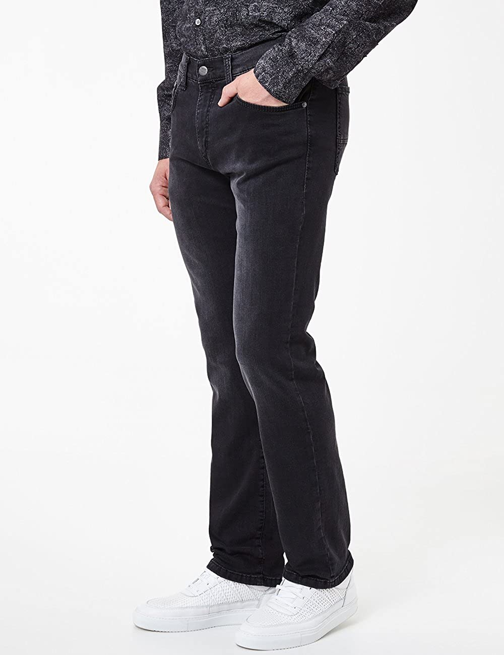 Pioneer Rando Megaflex Pantalon Homme Bleu (Dark Used 14).