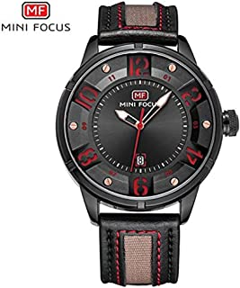 Beautiful Watch Mini Focus/Men's Watch/Business Fashion/Japanese Movement/Calendar Waterproof/Leather Strap / 0012G