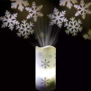Lámpara de proyección LED, diseño de copo de nieve, lámpara de proyección LED, proyector de Navidad, lámpara de proyección de Halloween, decoración de interior, para Halloween, Navidad, Pascua