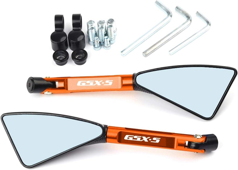 Color : Black R/étroviseur De Moto CNC pour Suzuki GSXS750 GSXS1000 GSXS 1000 750