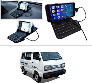 AutoStark Car Mobile Holder Pad with Charger Car Cradle with Fast Charging for Maruti Suzuki Omni