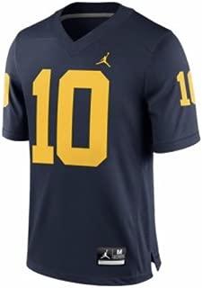 Jordan Tom Brady Michigan Wolverines Brand Alumni Football Jersey Navy