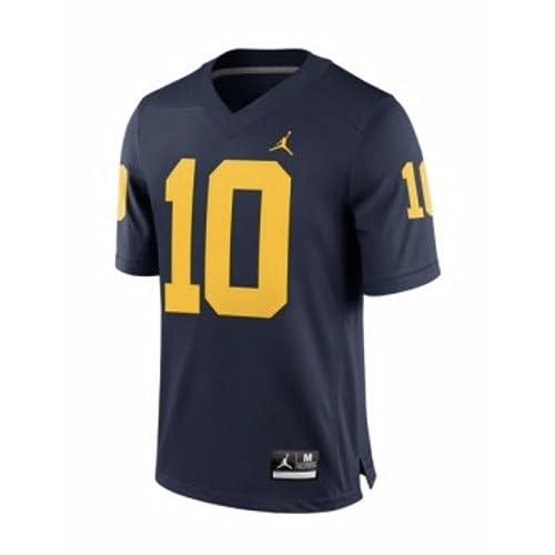 471d990c540 Jordan Tom Brady Michigan Wolverines Brand Alumni Football Jersey Navy