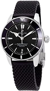 Breitling Superocean Heritage II Automatic Chronometer Black Dial Men's Watch AB2030121B1S1