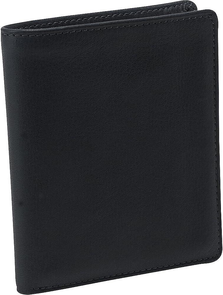Osgoode Marley Mens ID Billfold Bifold Wallet (Black)