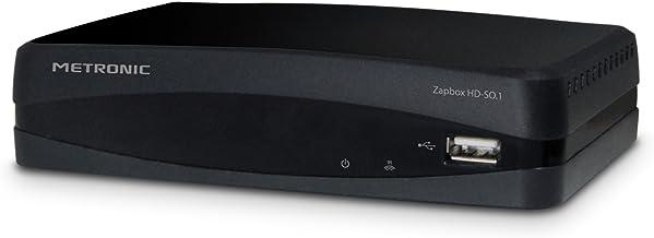 Metronic 441615 Zapbox HD-SO.1.1 - Receptor TDT-T2 HD, toma USB, HDMI, Scart, SPDIF, mando a distancia, Negro