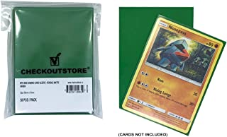 CheckOutStore (1000) Protective Sleeves for Magic The Gathering MTG, Pokemon, Board Games Trading Cards (66 x 91 mm) (Doub...