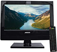 AXESS TV1705-13 13-Inch LED HDTV, Features 1xHDMI/Headphone Inputs, Digital Tuner with..