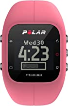 Polar A300 Fitness Tracker and Activity Monitor with Heart Rate Monitor Pink (Certified Refurbished)