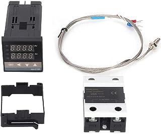 0-400 PID-Temperaturregler AC110V-240V Digitales LED-Thermostat-Kit für elektrische Energie, chemische Industrie