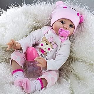 nobrand Waller PAA 22'' Handmade Lifelike Newborn Silicone Vinyl Reborn Baby Doll Full Body Gifts