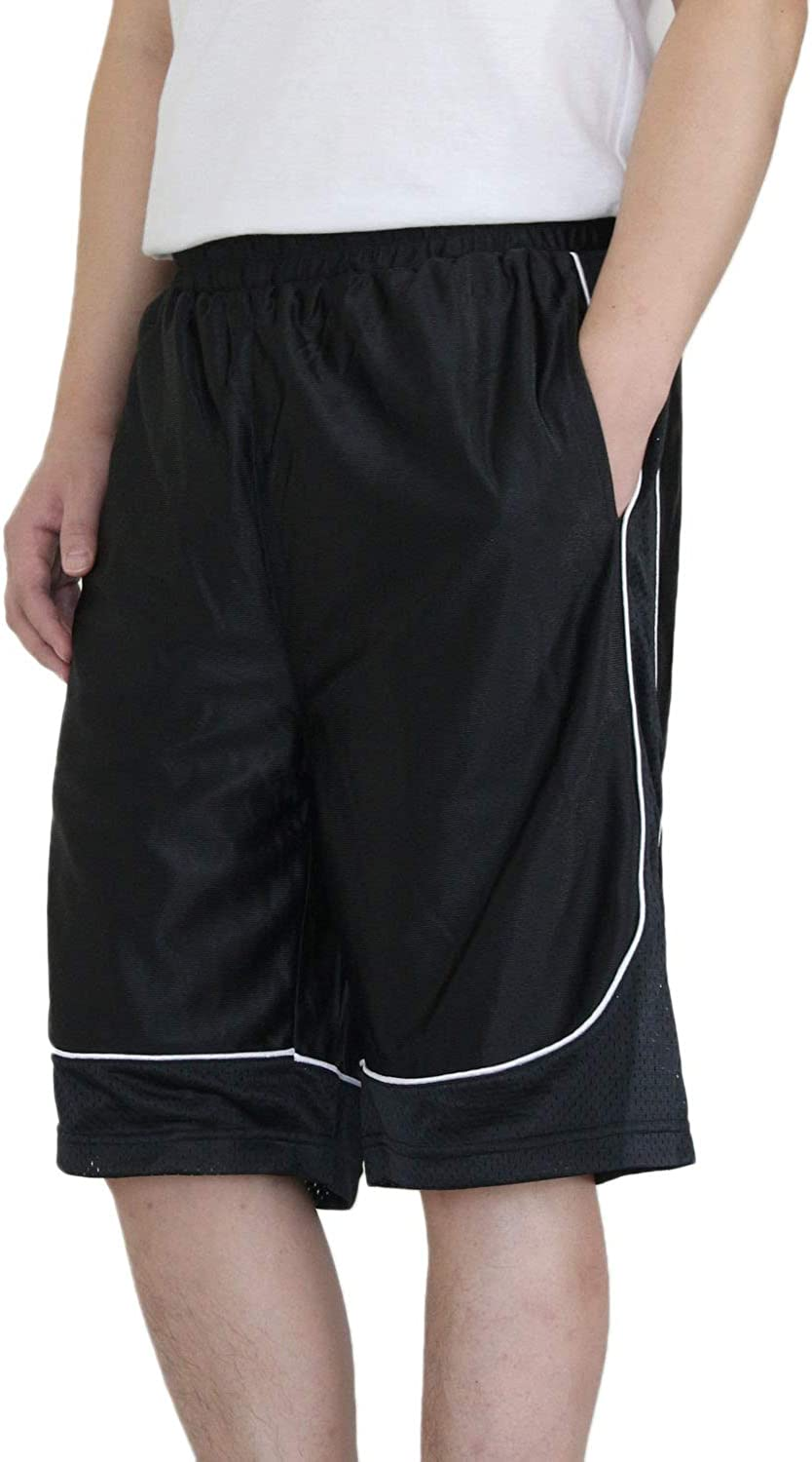 AIRNINE Men's Training Basketball Outlet ☆ Free Shipping Shorts S Pockets Special price for a limited time to with 5XL