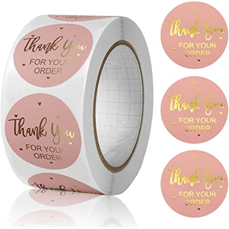 Fall Packaging Ideas Thankful For You Sticker Sticker for small business 1.5 inch stickers