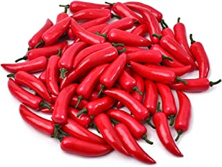 fake chili peppers