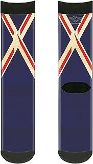 جوارب للكبار من الجنسين من باكل-داون، بتصميم علم المملكة المتحدة، متعددة الألوان