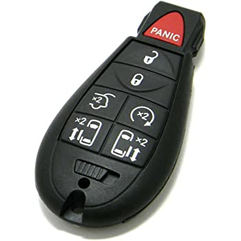 Fits Jeep 68141580 AC OEM 5 Button Key Fob