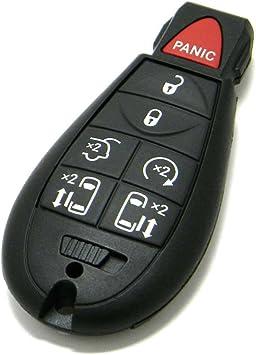 dodge grand caravan key fob not working OEM Dodge Grand Caravan 2-Button FOBIK Key Fob Remote (FCC ID: IYZ-C2C,  P/N: 56046209)