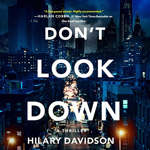 Don't Look Down audiobook cover art