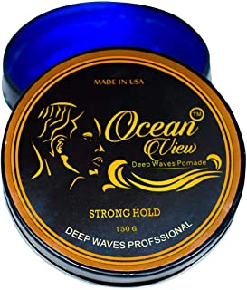 Ocean View Hair Pomade-Strong Hold 4 Oz- Pomade, Hair Styling, Wave Training