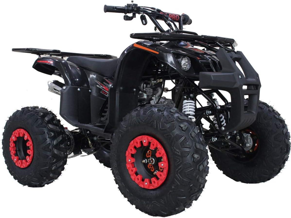 125cc ATV 4 Wheels Wheelers Quad 125 ATV Quads with LED Lights Tree Camo Big 19 Tires