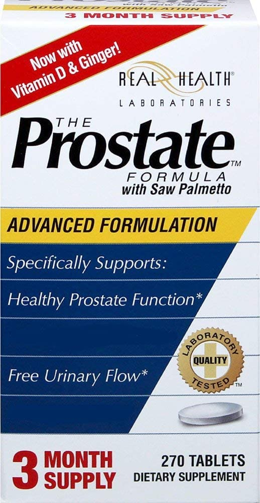 Outlet ☆ Free Shipping Real Health Prostate Formula with Palmetto Popularity 270-Tablets Saw