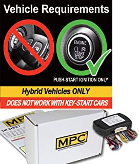 MPC Complete Add-on Remote Start Kit for 2008-2013 Toyota Highlander - Hybrid - Uses Factory Remotes - Firmware Preloaded