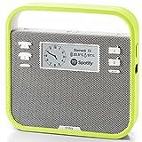 invoxia Tragbarer Smart-Lautsprecher mit Alexa Sprachservice, Grün