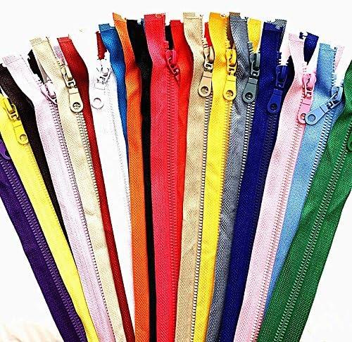 wangtao 20 San Max 79% OFF Francisco Mall pcs 5# 25-70cm Plastic Detachable Zipper Sewing for