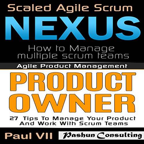 Agile Product Management: Scaled Agile Scrum cover art